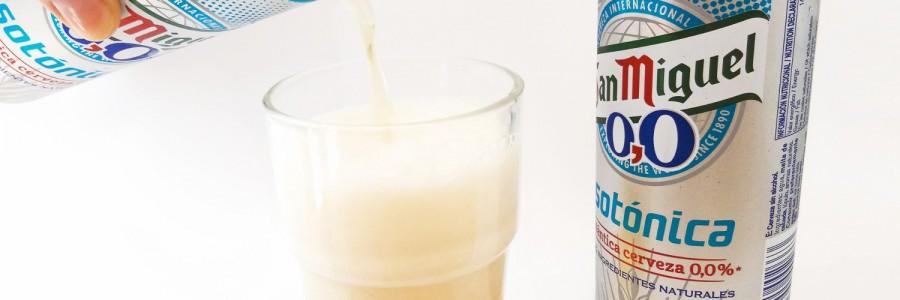 San Miguel lanza la cerveza isotónica para deportistas